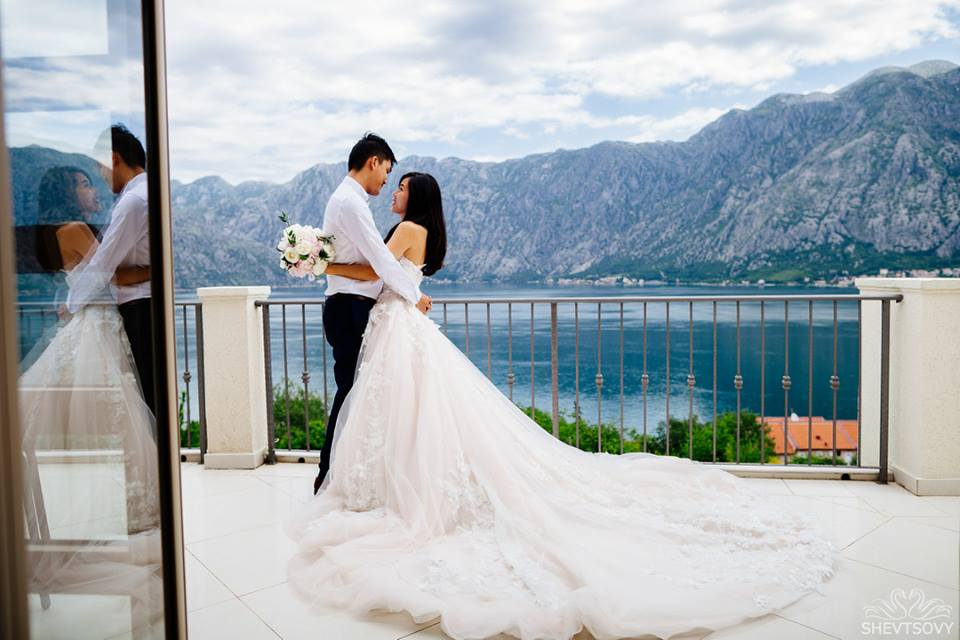свадьба в Черногории, wedding Montenegro