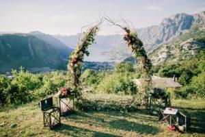 свадьба в черногории, wedding montenegro, flowers Montenegro, decorations of weddings in Montenegro