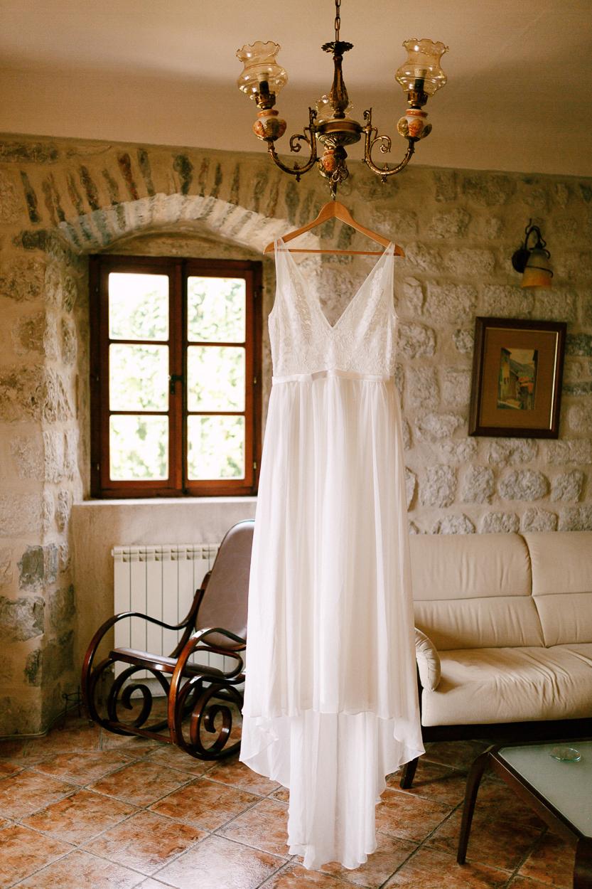wedding dress Montenegro