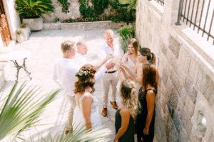 wedding flowers Montenegro
