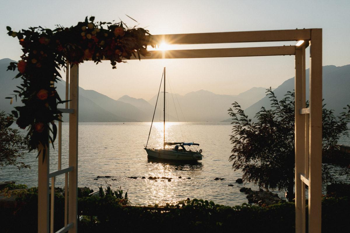 wedding arch Montenegro