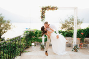 свадьба в черногории wedding ceremony in Montenegro