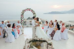 Wedding in Montenegro - Sveti Stefan island - Hotel Adrovic