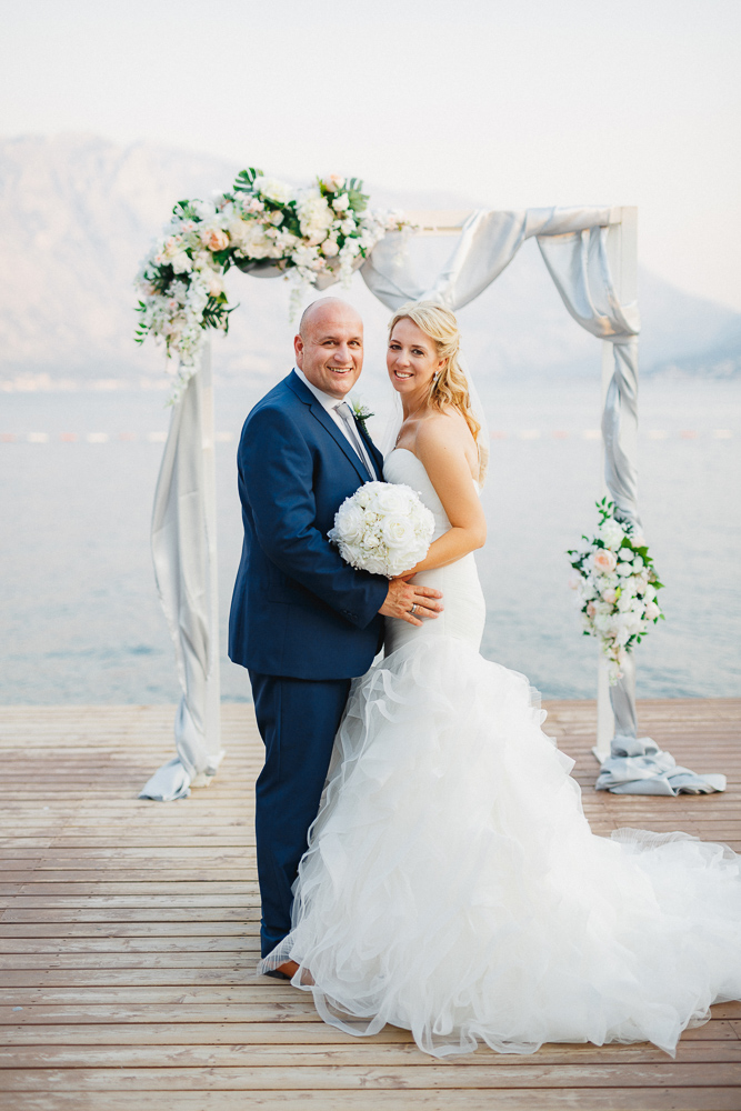 wedding couple Montenegro
