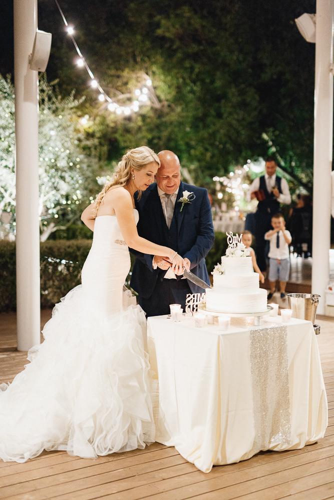wedding cake in Montenegro