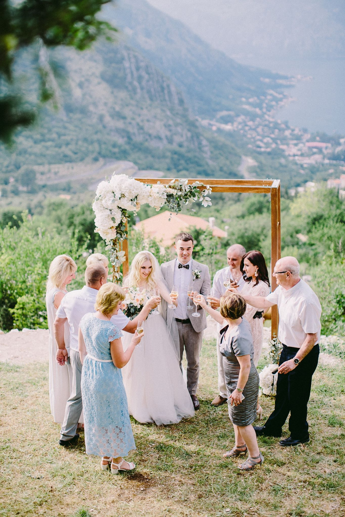 wedding in Montenegro, свадьба в Черногории