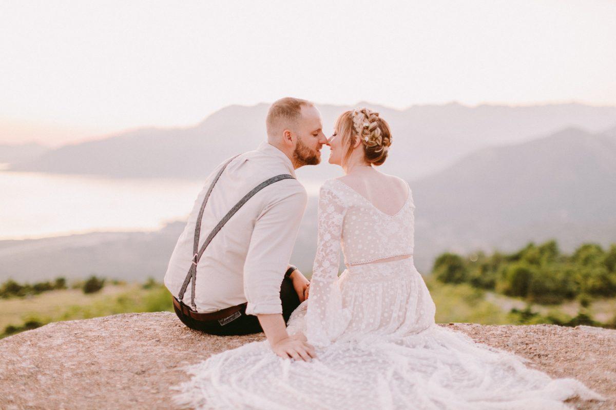 свадьба в Черногории, свадьба в Италии, свадьба за границей